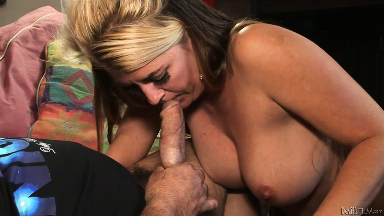 Porno Video of Blonde Milf With A Hairy Twat Sucks Ron Jeremy And He Eats Pussy