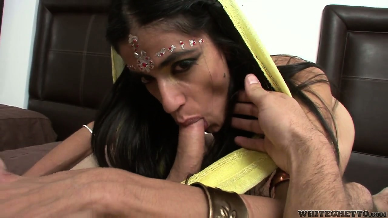 Porn Tube of Indian Housewife Slurps On His Cock Still Wearing Her House Clothes