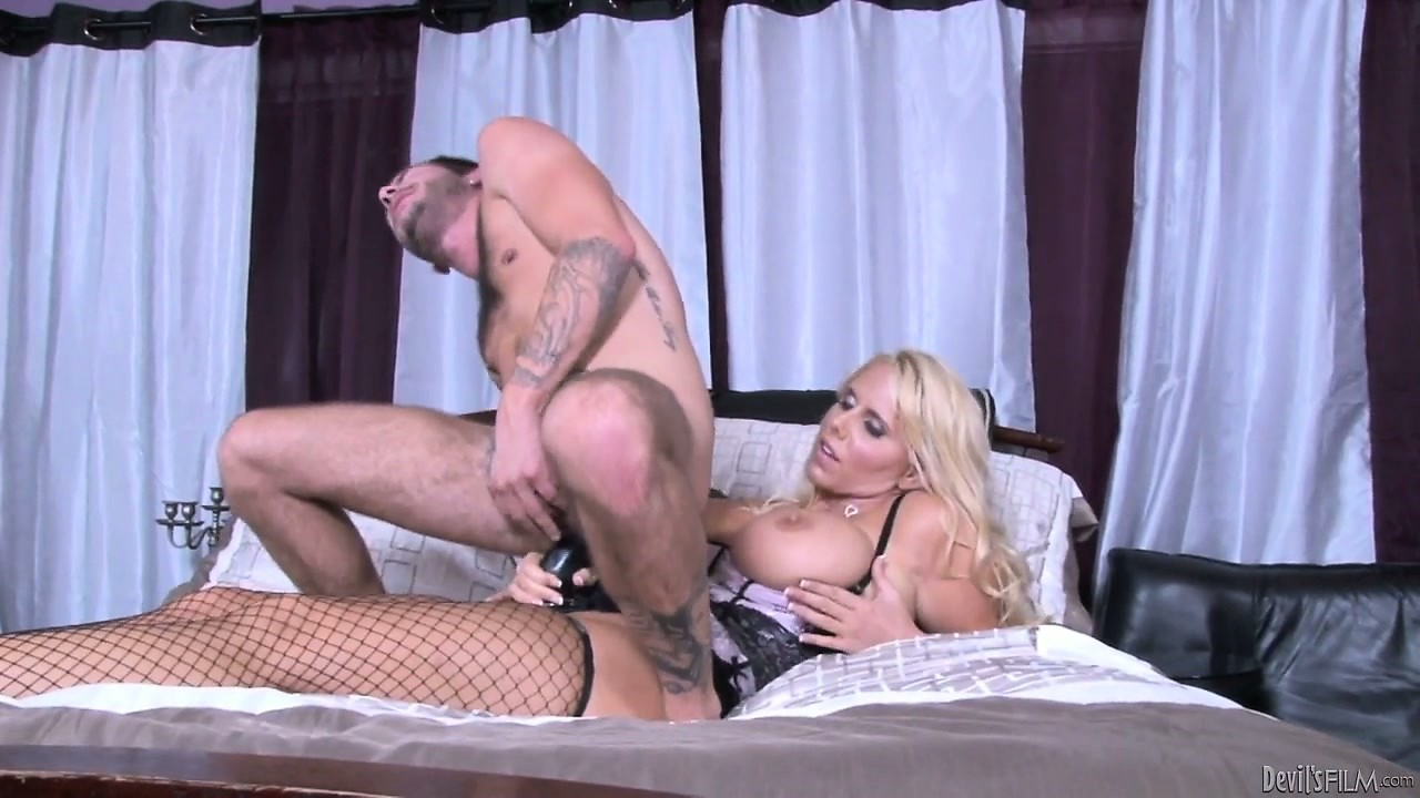 Porno Video of Enormously Busty Babe Offers Her Fuckmate To Sit On Her Strap-on