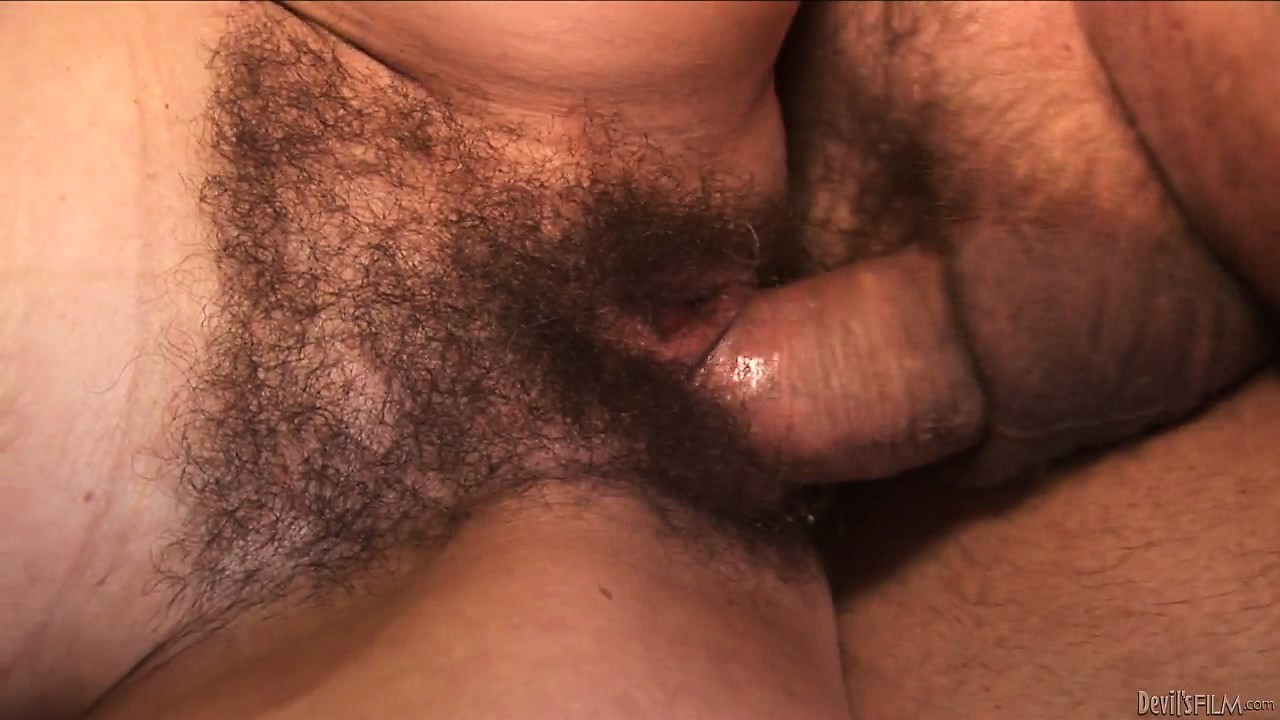 Porno Video of Momma Goes Old Time With A Hairy Cunt And Gets A Hard Bone In It