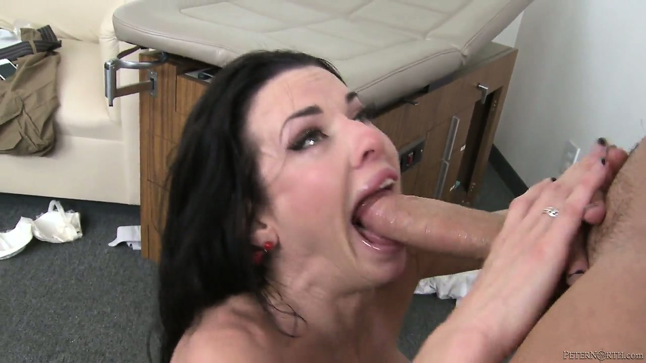 Porn Tube of The Busty Milf Fucks Him With Passion And Welcomes His Cum In Her Mouth
