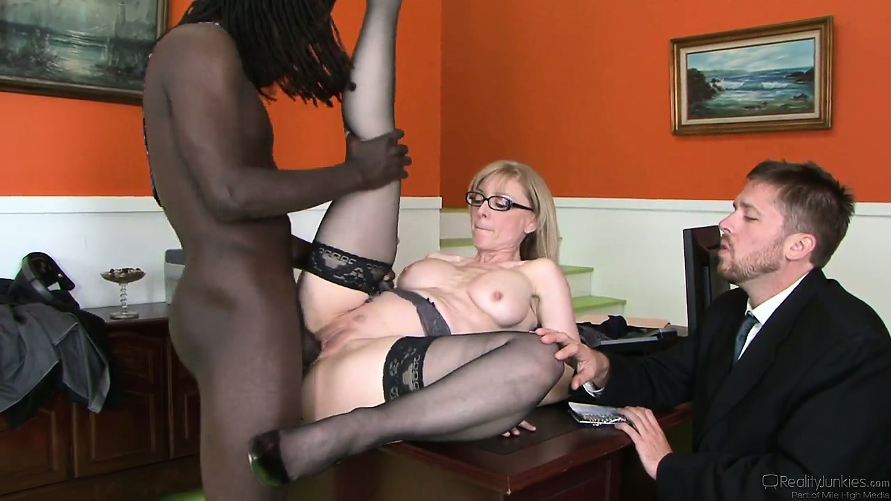Porno Video of Big Black Male Is Doing Something Incredible With The Cunt Of Nice Milf